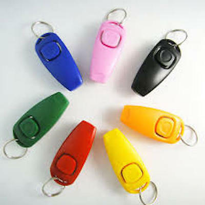 ** NEW - Combined - Professional Training Clicker / Whistle