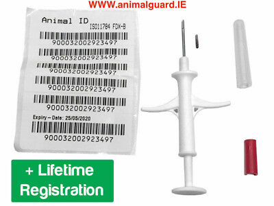 20 ** NEW ** 20 PET / Dog Microchip 15 Digit ISO Standard ( Pack of 20  )