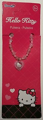Hello Kitty Armband Armkette Schmuck Giveaway rosa Kind Mädchen Band Arm