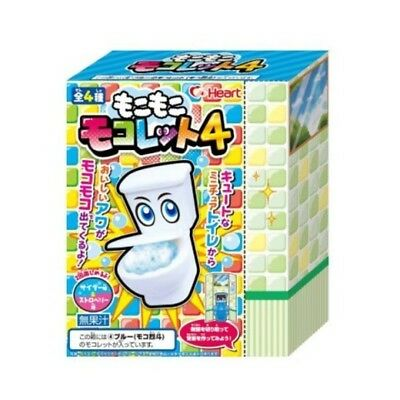 HEART FROTHY TOILET 4 -DIY Japanese Candy Kit Mokomoko Mokolet like Popin Cookin