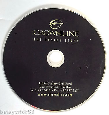 Crownline Boat Building Construction Process DVD incl: Models & Designs