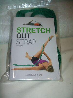 Stretch Out Strap W/ Stretching Guide - OPTP  Exercise Aid - Fast Shipping