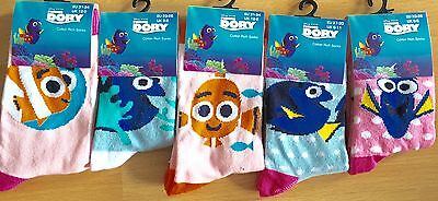 Bn Finding Dory Socks Assorted Sizes & Designs Free Postage, Xmas Gift