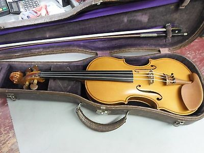 mathiew schnider 1927 violin with bow