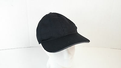 Chef Works Cool Vent Baseball Black Cap - BCCTGRY0 Chef Hat