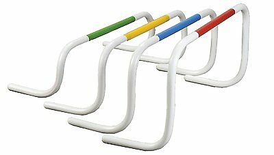 Champion Sports Speed Hurdle Set of 4 - Multicolored - Free Shipping!  New!