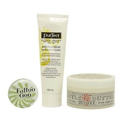 Tattoo Aftercare Kit with Hustle Butter, Goo and More