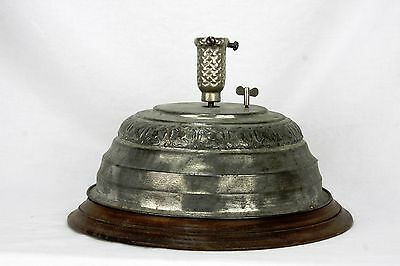 Antique Rare Small Table Top Musical Rotating Christmas tree Stand