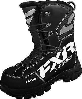 New FXR-Snow X Cross Insulated Boots, Black, Mens US-9/Womens US-11/EUR-42