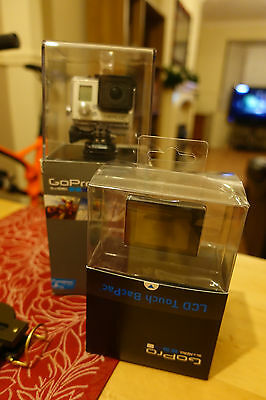 Gopro Hero 3+ Silver with extra LCD touch Screen Both Boxed