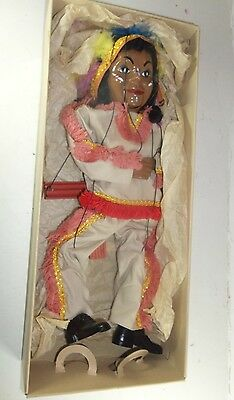 Hazelle's Talking Marionettes - 418 Indian Cheif