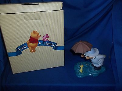 Disney Pooh & Friends Figurine We'll Share Forever Whatever the Weather, Org Box