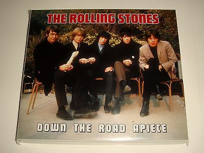 Ultra Rare ROLLING STONES DOWN THE ROAD APIECE Live 1964-1967 2 CD BOX SET - NEW