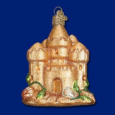 """Sand Castle"" (20069) Old World Christmas Ornament"