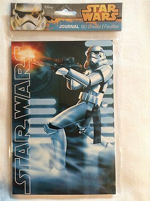Star Wars Collectible Mini Journal Notebook 60 Page Notepad - Stormtrooper