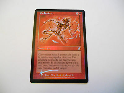 1x MTG FOIL Carbonizzare-Carbonize Magic EDH SCG Flagello SPA Spagnolo x1