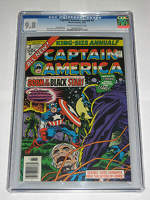 Captain America Annual #3 CGC 9.8 (1 of 5 on census! NONE HIGHER)