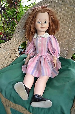 "Vintage 1961 American Character Jointed 29"" BETSY MCCALL DOLL Original Dress"