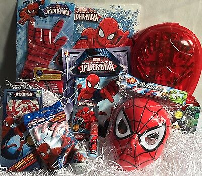 The Amazing Ultimate Spider-man Childrens Christmas Gift Hamper