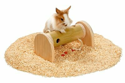 Rody Brain Train Roll Tunnel Rolle Hamster Nagerrolle Spielzeug für Nager Holz