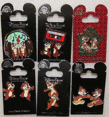 Disney Chip & Dale 8 Pin Set