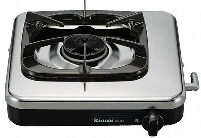 NEW!! Rinnai gas 1 burner stove 13A for black KG-11B 13A from JAPAN
