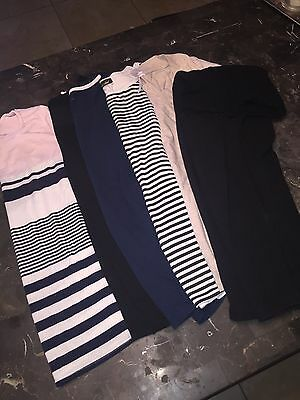 maternity clothes lot Large And Xlarge Pant Blouses Solid Stripes