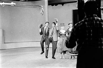 Dinah Shore Tv Show With Dean Martin And Hugh O'brian 8X10 Photo 1