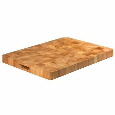 Vogue Large Rectangular Wooden Chopping Board Kitchen Vegetable Cutting Slicing