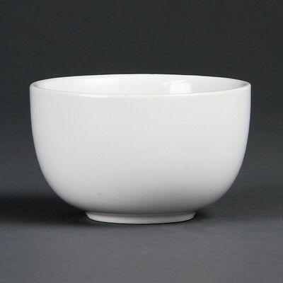 12X Olympia Whiteware Sugar Bowls Kitchen Serving Dishes Restaurant Catering