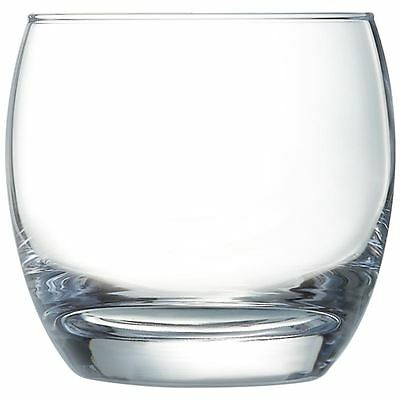 Arcoroc Salto Tumblers 320ml Drinking Glasses Restaurant Bar Tableware Clear