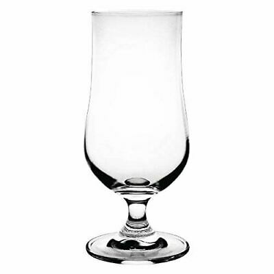 Pack of 6 Olympia Crystal Hurricane Cocktail Glasses 340ml