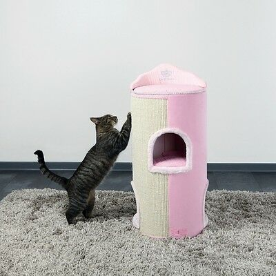 Maja von Hohenzollern by Trixie Cat Princess Cat Tower rosa, UVP 109,00 EUR, NEU