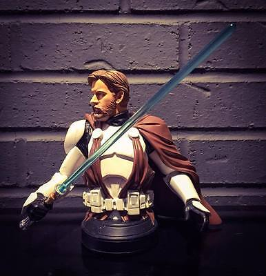 Star Wars Gentle Giant Collectible Bust Obi Wan in Clone Trooper Armor #1597