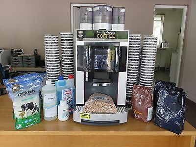 Franke Pura Bean to Cup Commercial Coffee Machine - FREE UK MAINLAND DELIVERY