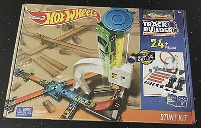 Hot Wheels Track Builder Stunt Kit Ages 4+ New Toy Car Race Track Boys Play Gift