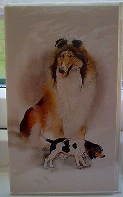 Lovely Dog Breeds Greeting Card Bulldog Poodle Spaniel Jack Russell ETC