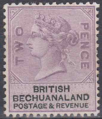 Bechuanaland 1888 Mint Mounted 2d Lilac & Black SG11 Cat £120