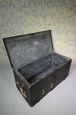 19th Century English Military Campaign Box with Liner.