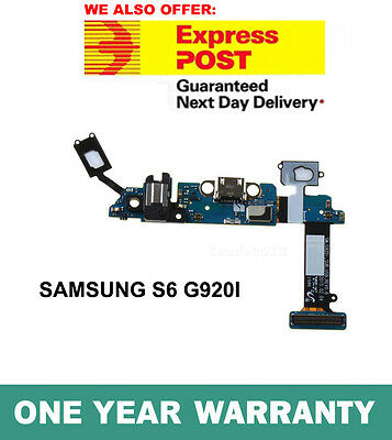 NEW Genuine Samsung Galaxy S6 G920i Charging Port USB Dock Connector Replacement