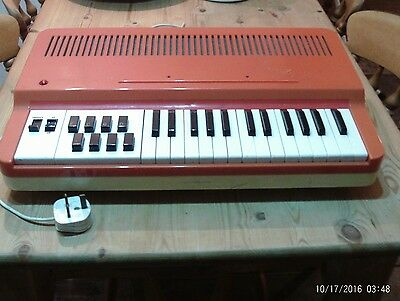 Vintage Antonelli golden organ - electronic keyboard - made in Italy - working