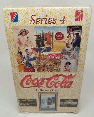 Coca-Cola Collector Cards Series 4 Card Box (1994, Collect-A-Card Corporation)