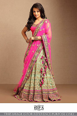 Bollywood Designer Woman Party Wear Ethnic Silk New Lehenga Choli Saree Wedding