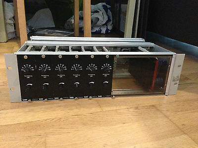 "lawo 970/4 in 19"" rack with PSU"