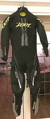 Zoot Mens Z Force 1.0 Triathlon Wetsuit Swimming Race, MEDIUM
