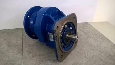 Motovario H 401F Cast Iron In Line Reduction Gearbox 3.11:1 For Motor Frame 71