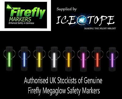 GENUINE FIREFLY MEGAGLOW SAFETY MARKER KEYRING ISOTOPE GTLS POWER Nite Glowring