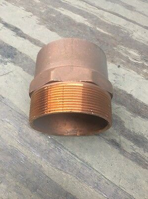 "4"" Wrot Copper Sweat Male Adapter"