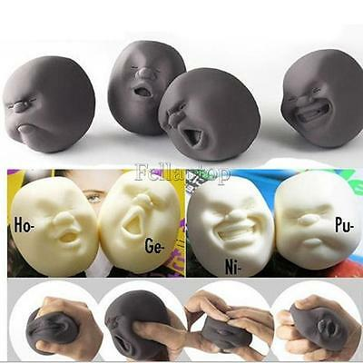 Novelty Caomaru Toys Pressure Stress Reliever Anti-Stress Squeeze Face Ball Gift