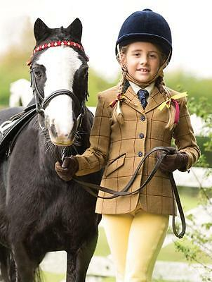 Equetech Wheatley Child Show Tweed size 28""